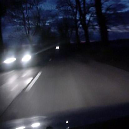 Droga bezoświetlenia drogowego