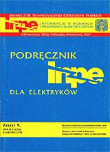 Podręcznik INPE dla Elektryków. Zeszyt 9 – Oświetlenie elektryczne