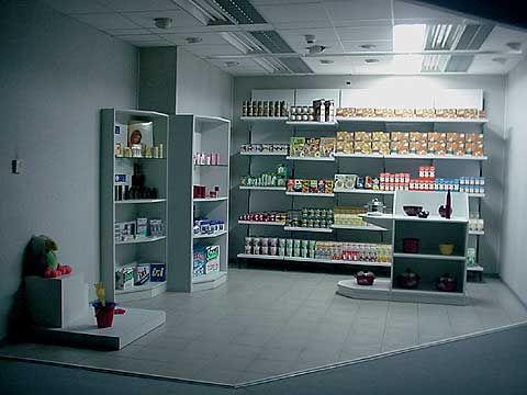 Oświetlenie sklepu - scena 1