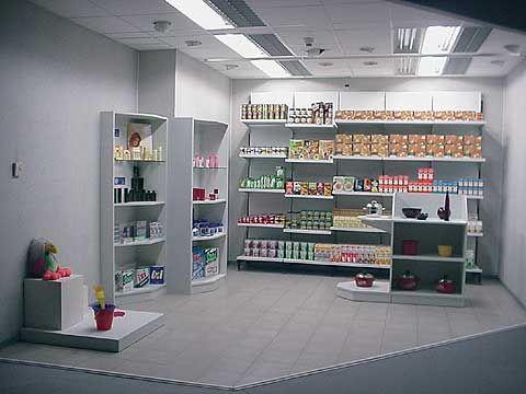 Oświetlenie sklepu - scena 2