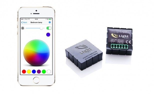 Lightbox - sterowanie oświetleniem zesmartfona