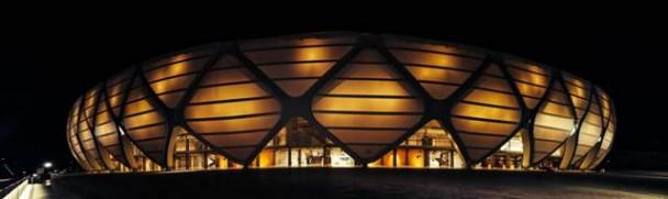 Oświetlenie stadionu - Arena da Amazonia