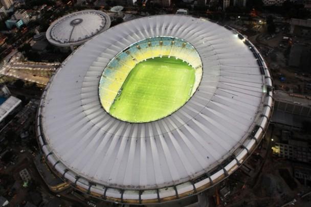 Oświetlenie stadionu - Maracanã