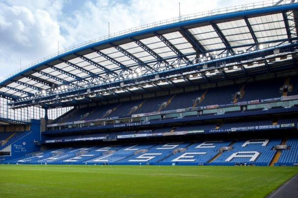 Oswietlenie LED stadionu Chelsea