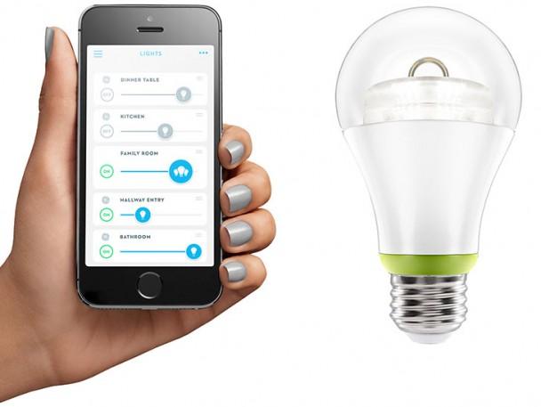 Technologia LED, którałączy oświetlenie domu zesmartfonem