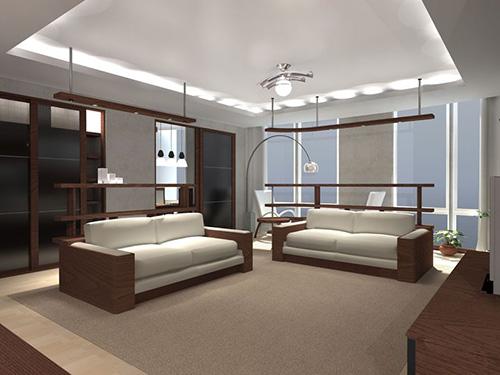 Zamontuj oświetlenie LED w suficie, schodach -> Kuchnia Sufit Led