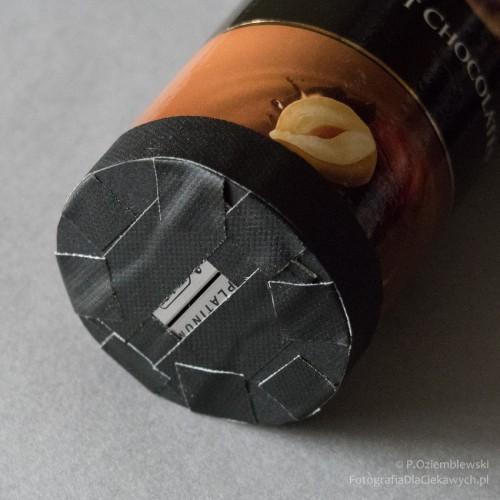 Gotowy spektroskop - widok odstrony szczeliny