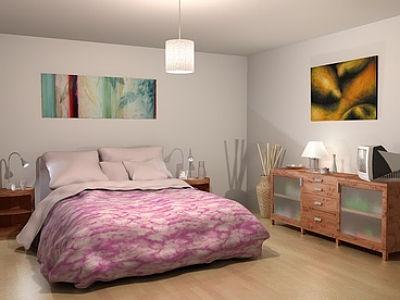 Lampa Nad łóżkiem Jako Nietypowy Element Sypialni