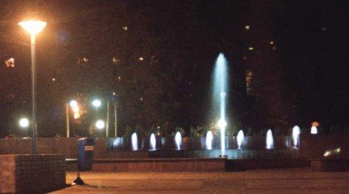 oświetlenie światłowodowe fontanny