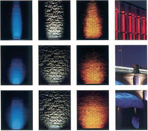 oświetlenie LED ściany