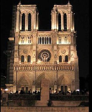 katedra Notre-Dame wParyżu