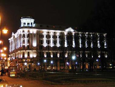 nieprawidłowe oświetlenie budynku