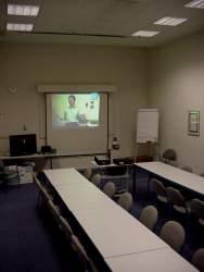 oświetlenie sali doprezentacji multimedialnej