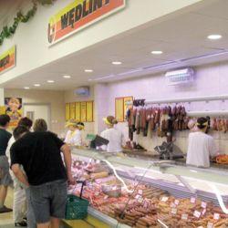 oświetlenie wsklepie mięsnym