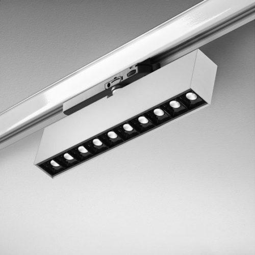 Oświetlenie szynowe - lampa naszynie
