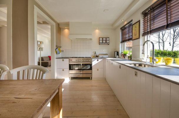 Wnętrze domu - kuchnia