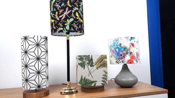 Lampy stołowe zabażurem