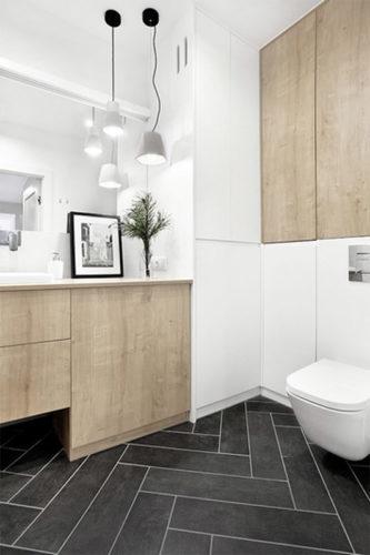 Trendy wprojektowaniu łazienek - bezbanałów izesmakiem