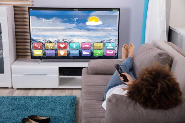 Wielkość TV wsalonie