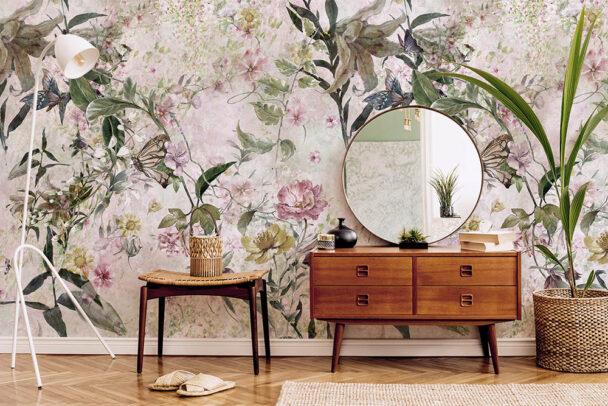 Fototapeta motyle ikwiaty