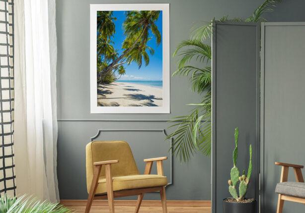 Plakat morze plaża