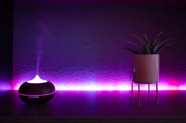 Taśmy LED - oświetlenie zaszafką