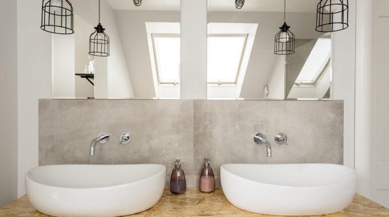 Jak funkcjonalnie urządzić łazienkę na poddaszu - viverto