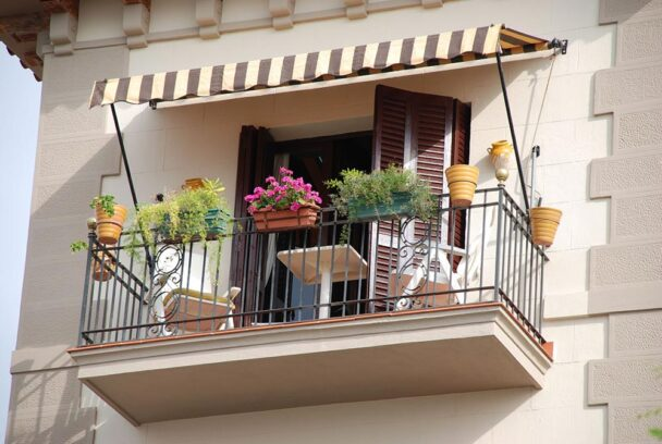 Balkon - krzesła balkonowe